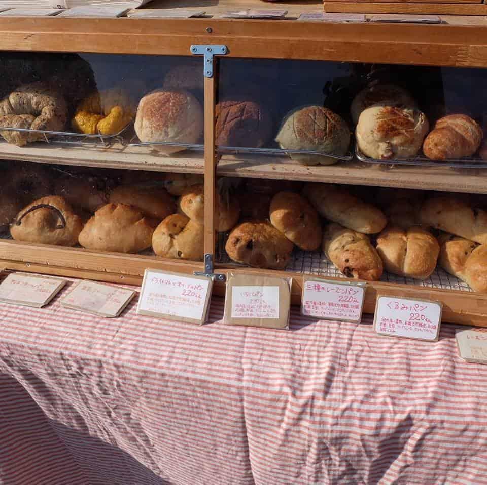 ร้านขนมปัง ที่ตลาดออแกนิก (Kochi Organic Market)