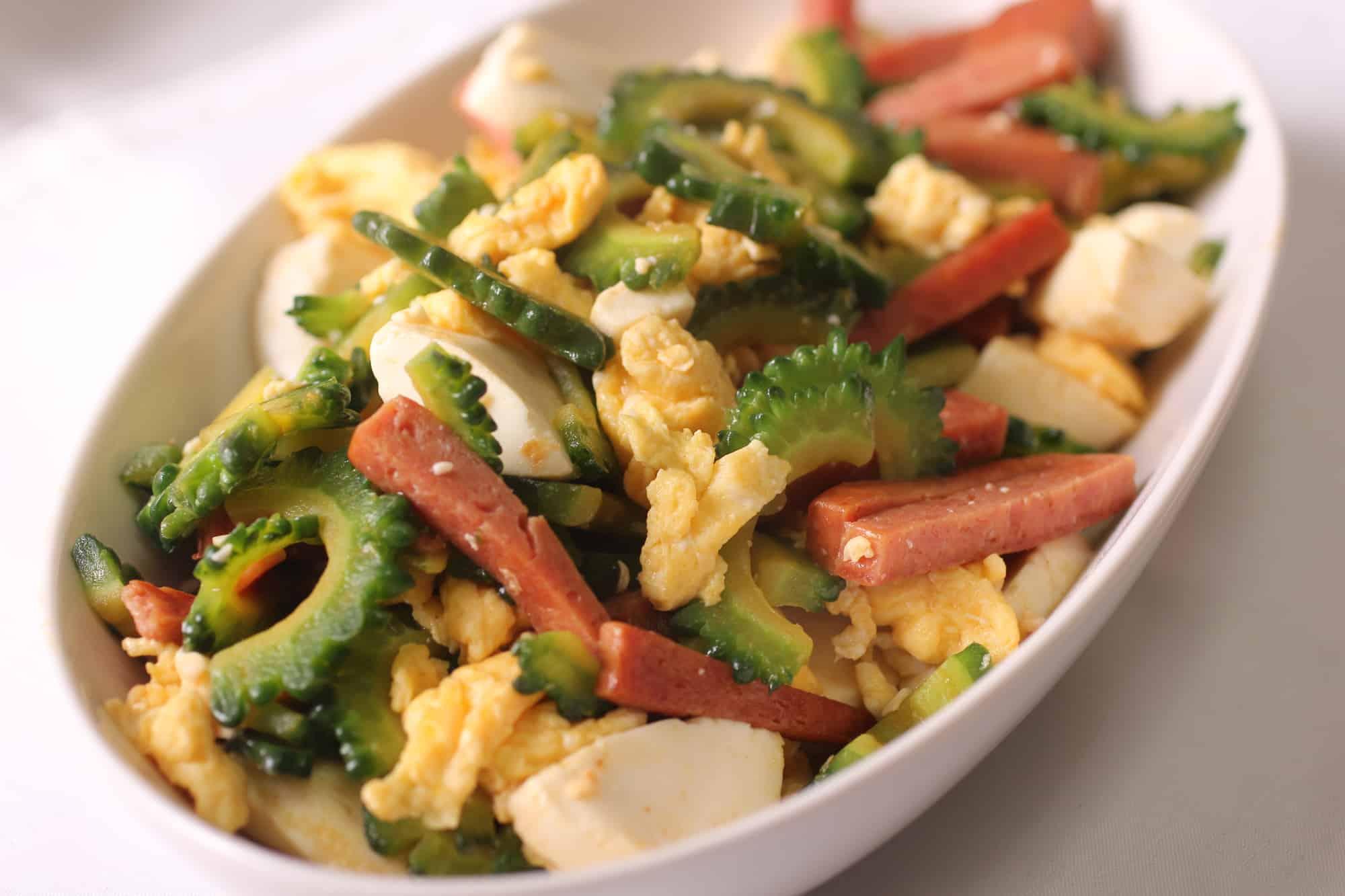 อาหารโอกินาว่า : จัมปุรุ (Champuru)