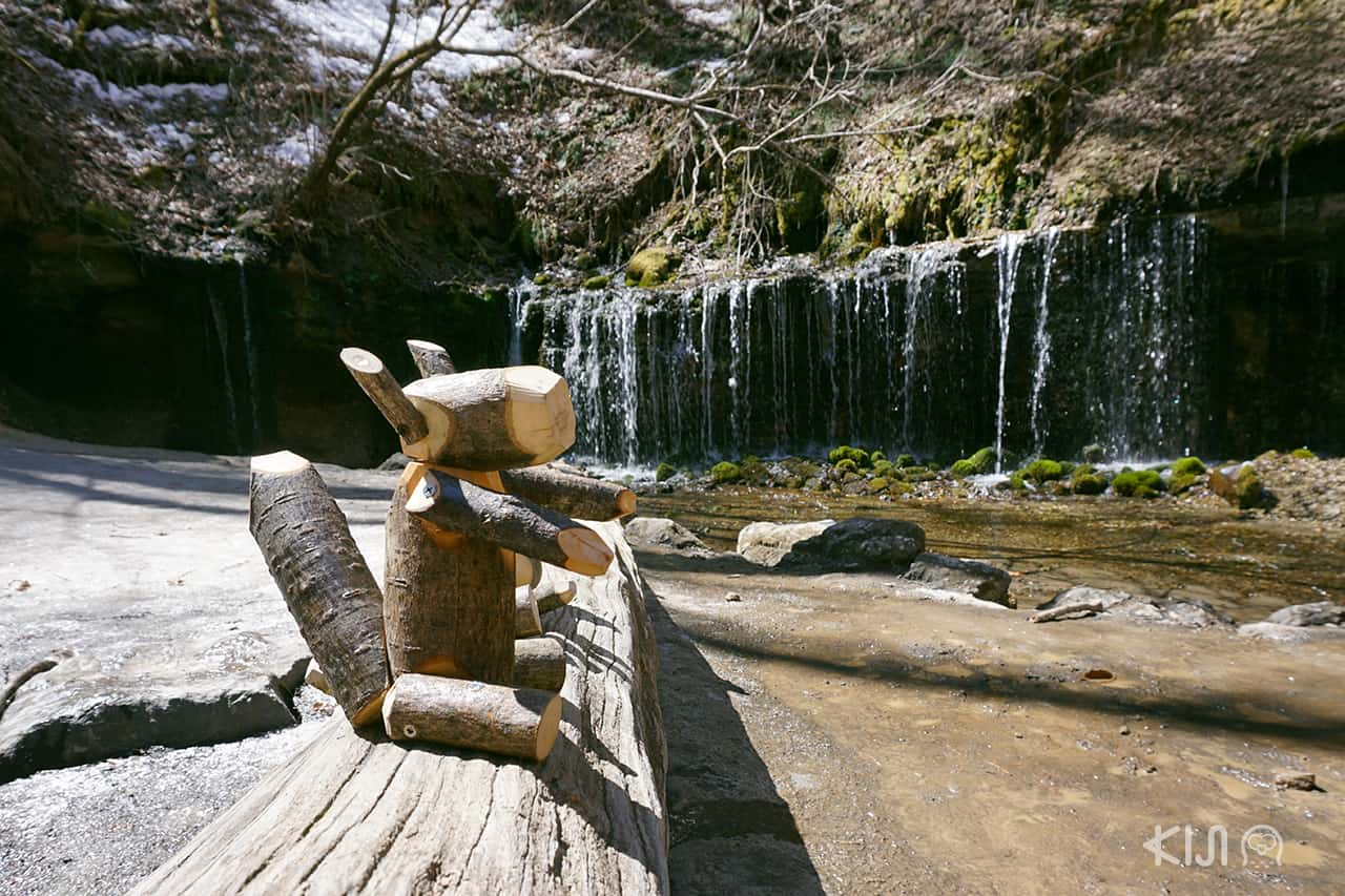 Shiraito Falls , Kawaizawa , Nagano คารุอิซาวะ นากาโน่