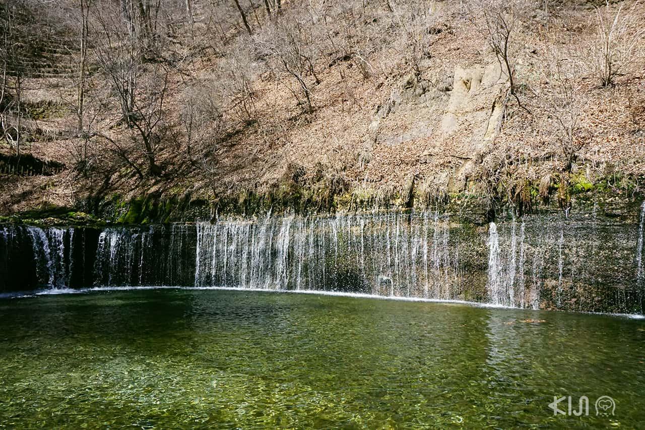 Shiraito Falls at Karuizawa