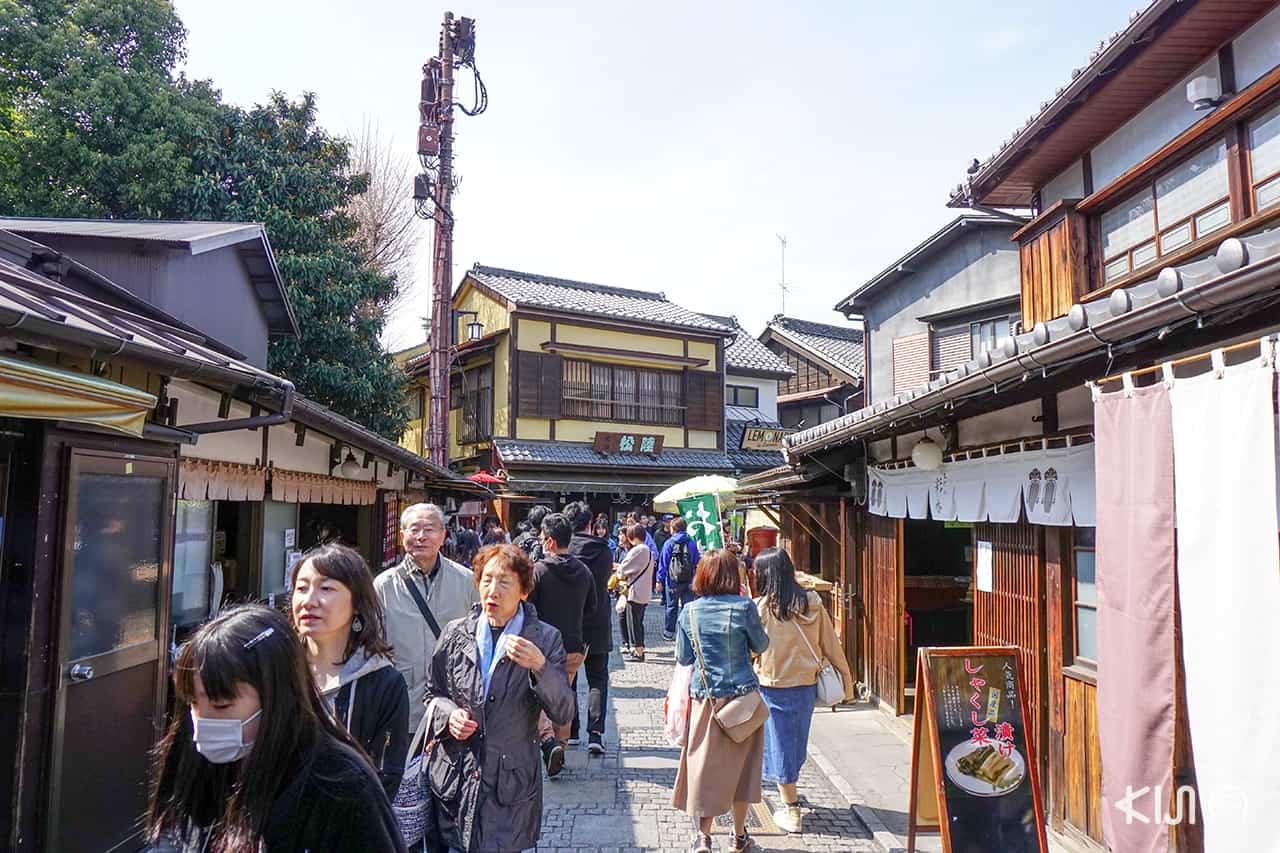 ตรอกขนมหวาน (Kashiya Yokochō - 菓子屋横丁) คาวาโกเอะ (Kawagoe)