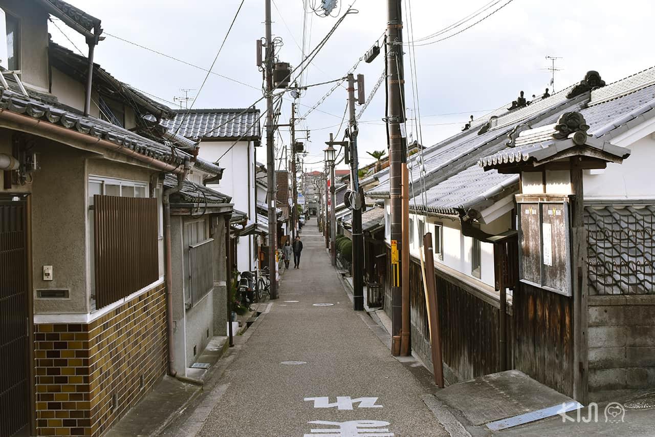 บ้านเรือนทรงโบราณใน ย่านอิไมโช (Imaicho)