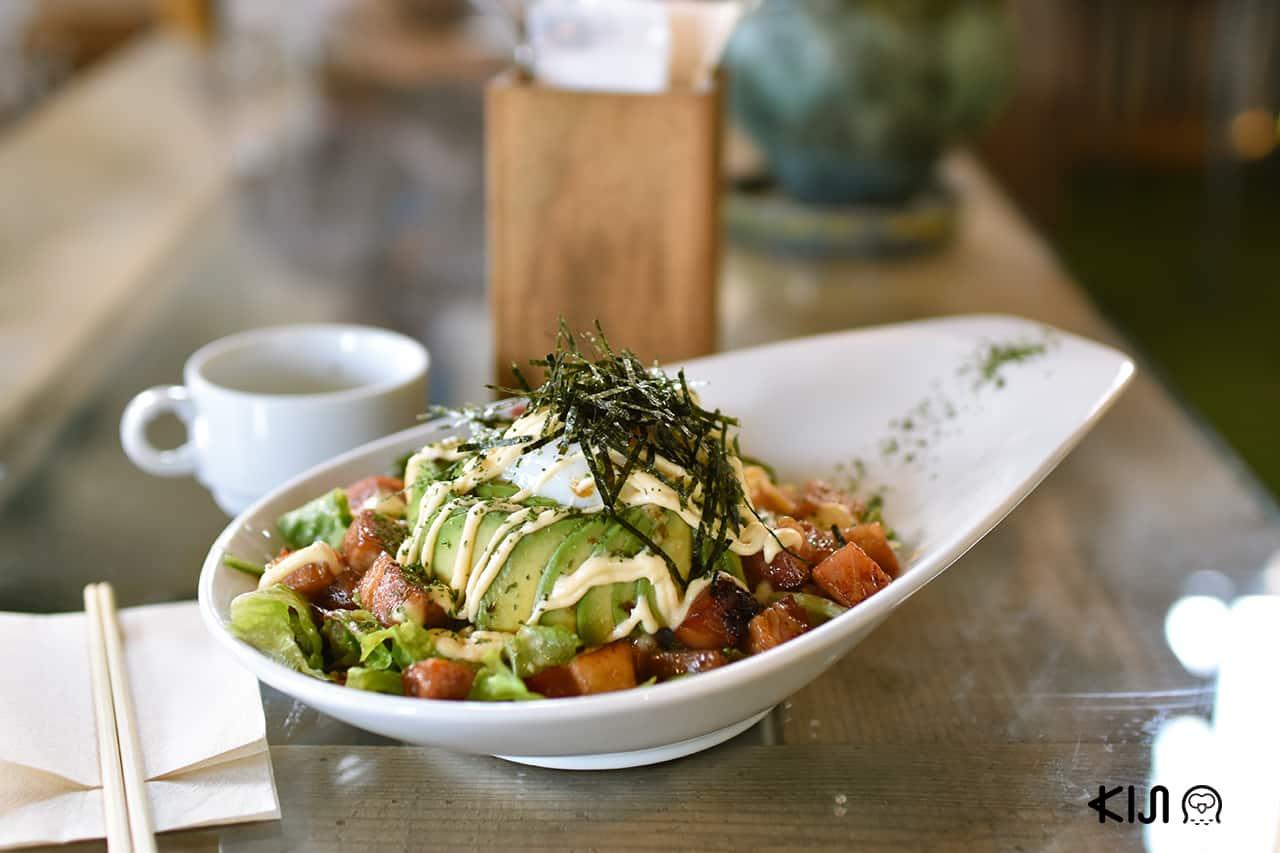 อาหารของร้าน Café Hackberry ในย่าน Imaicho