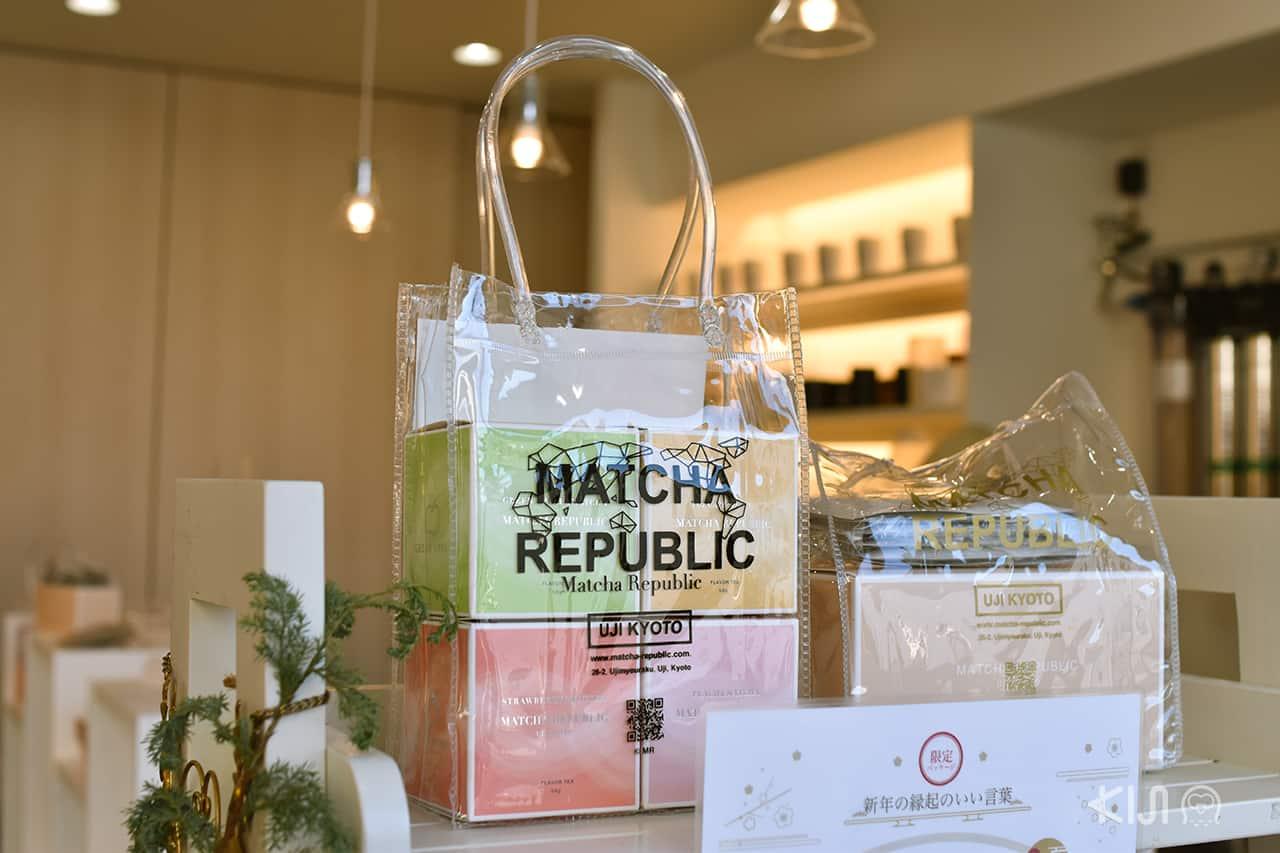 แพคเกจจิ้งของร้าน Matcha Republic