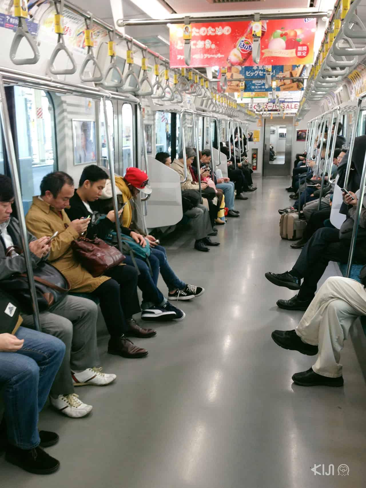 ใน สังคม ญี่ปุ่น การลุกให้คนแก่นั่งเราอาจจะถูกปฏิเสธได้