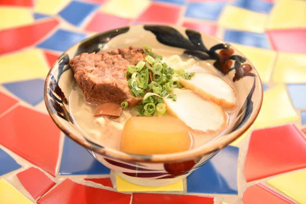 อาหารโอกินาว่า : นิชิมุยโซบะ (Nishimui Soba)