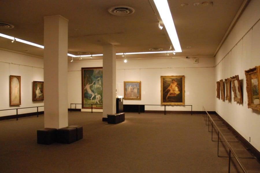 บรรยากาศภายในพิพิธภัณฑ์ศิลปะโอฮาระ (Ohara Museum of Art)