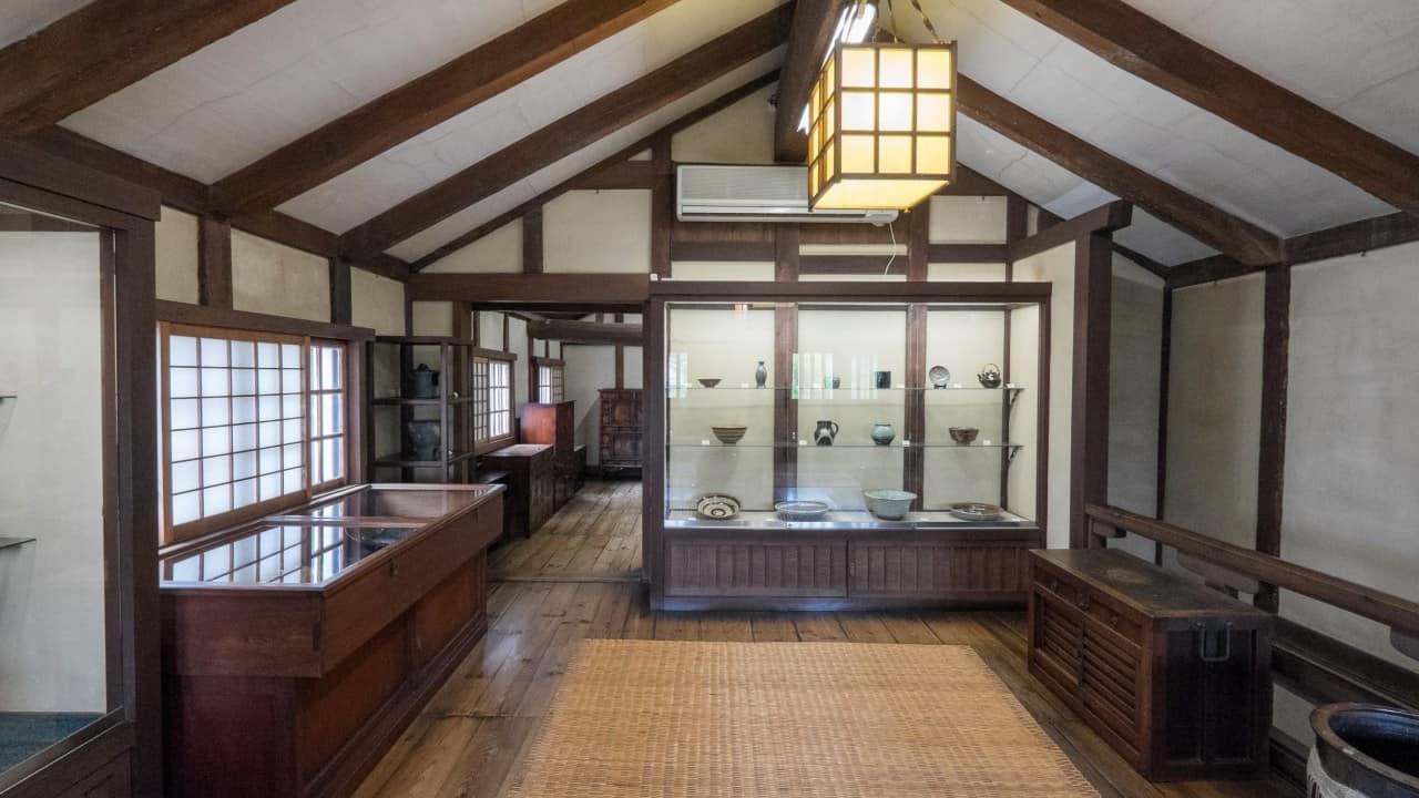 Museums in Kurashiki - บรรยากาศภายใน Kurashiki Museum of Folk Crafts