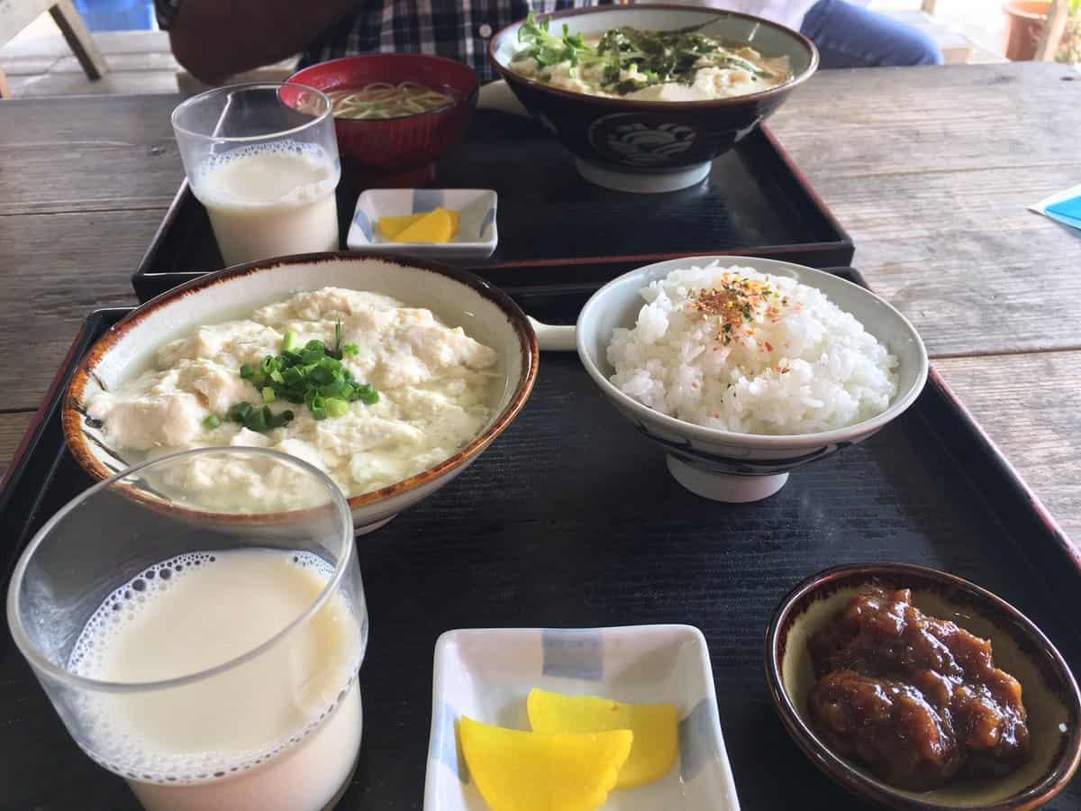 อาหารโอกินาว่า : ยูชิโดฟุเซ็ต