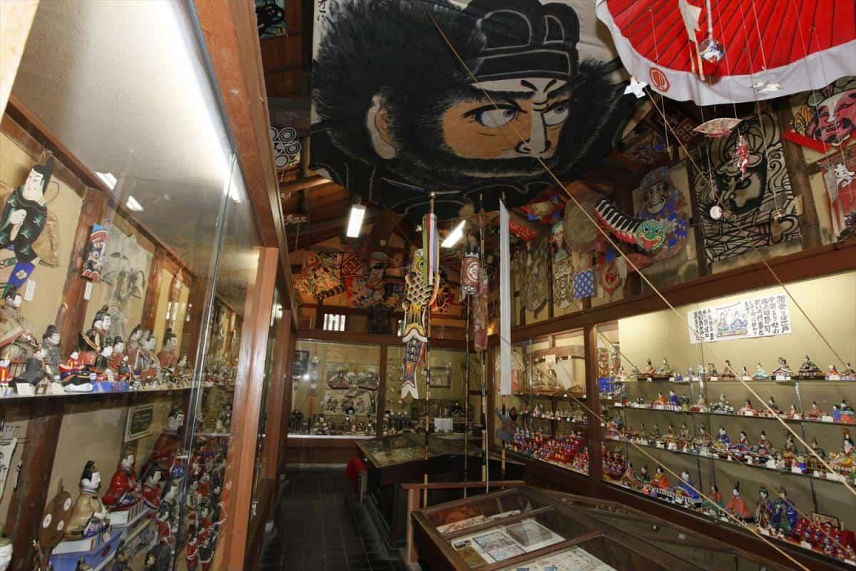 บรรยากาศภายใน Gangukan Folk Toys Museum