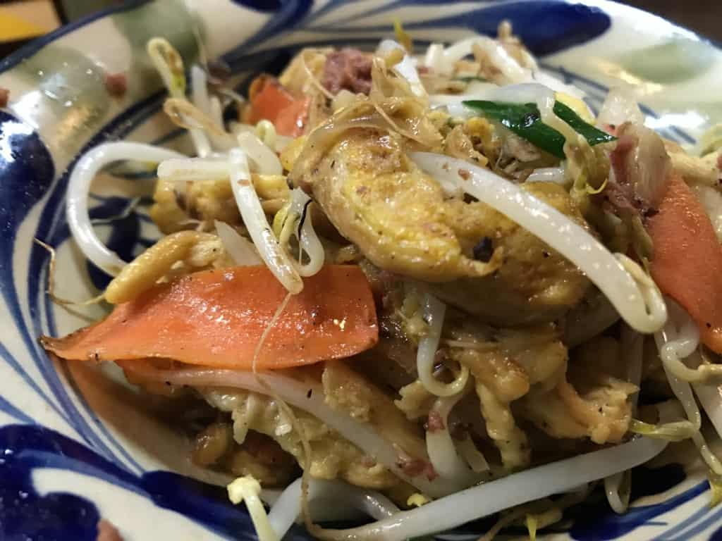 อาหารโอกินาว่า : ฟูจัมปุรุ (Fu Champuru)