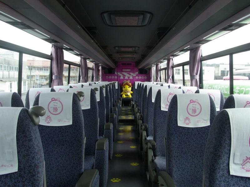 ภายในรถบัสของชิมาเนโกะ (Shimanekko)
