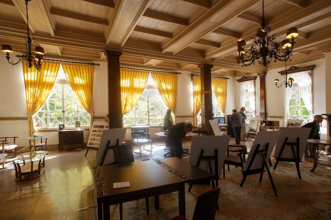 บรรยากาศภายใน Historic Mikasa Hotel