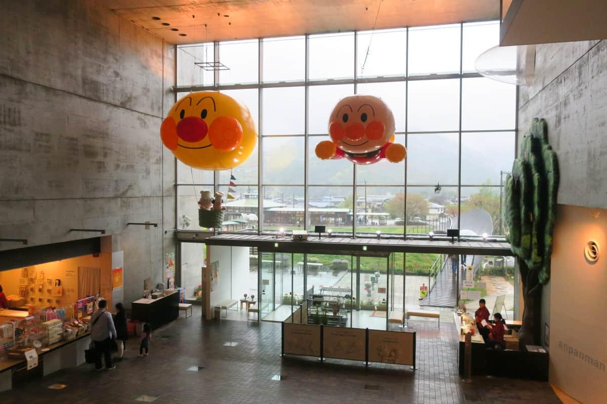 บรรยากาศภายในพิพิธภัณฑ์อันปังแมน (Anpanman Museum) โคจิ (Kochi)