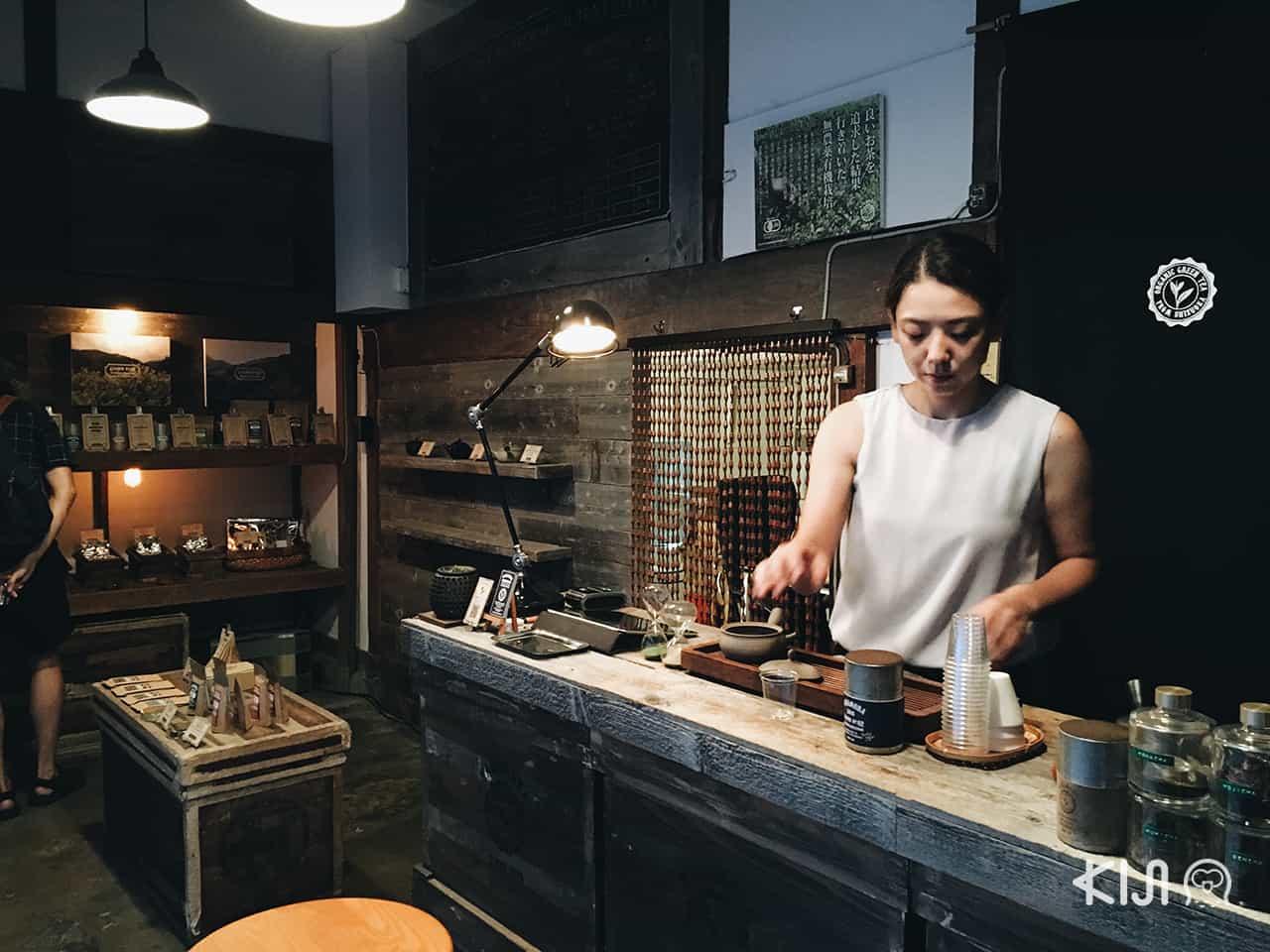 บรรยากาศภายในร้าน Nakamura Tea Life
