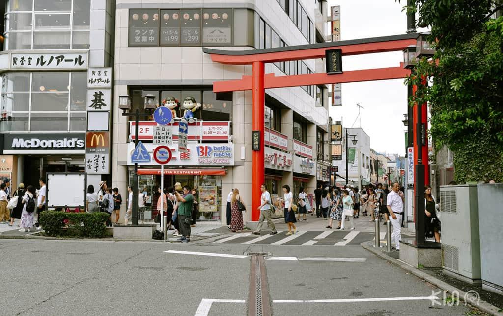 Komachi-dori Street at Kamakura