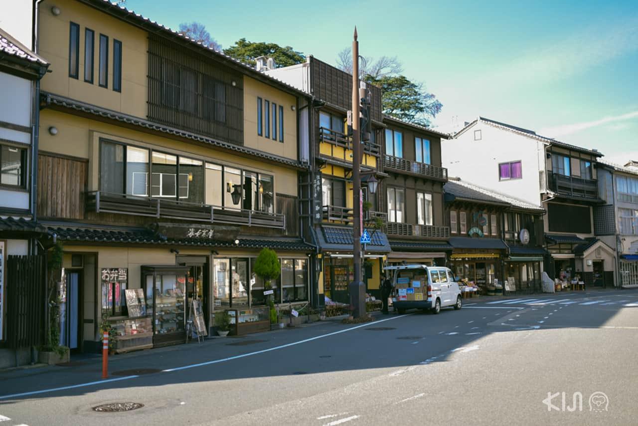 บ้านเก่า ร้านค้าโบราณของย่านคิโนะซากิออนเซ็น (Kinosaki Onsen)
