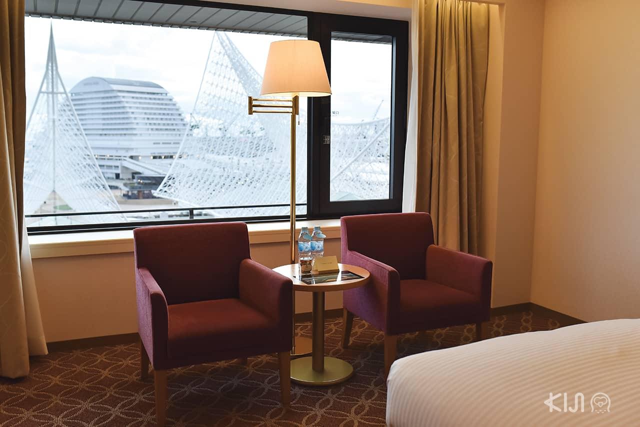 ภายในห้องพักโรงแรม Hotel Okura Kobe