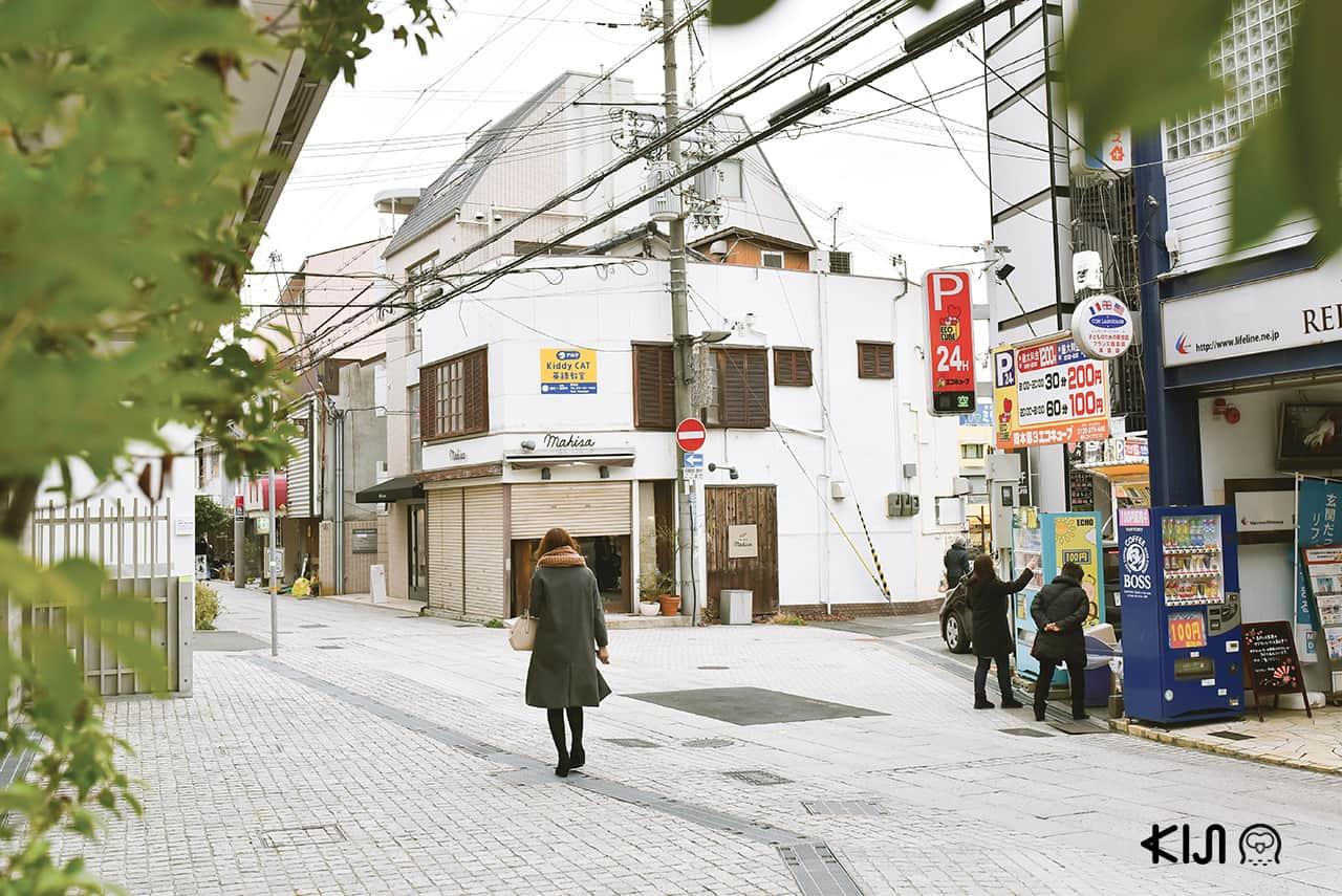 ย่าน Okamoto ที่ เที่ยวโกเบ ฝั่งตะวันออก