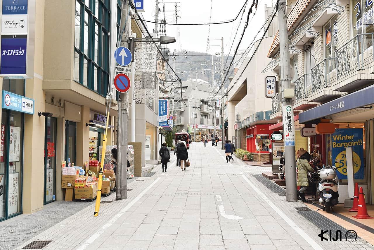 ย่านโอคาโมโตะ (Okamoto) ที่ เที่ยวโกเบ ฝั่งตะวันออก (East Kobe)