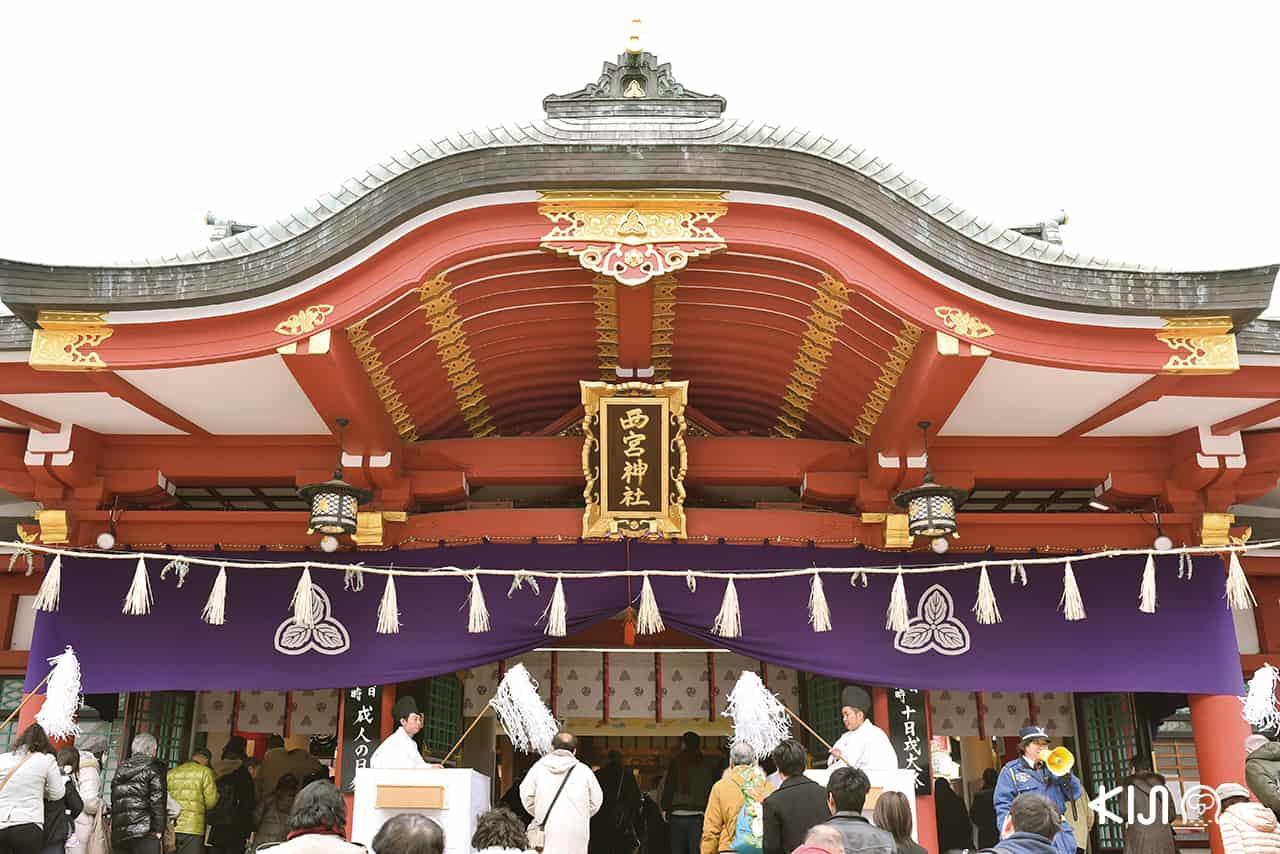 วัด Nishinomiya Shrine ที่ เที่ยวโกเบ ฝั่งตะวันออก (East Kobe)
