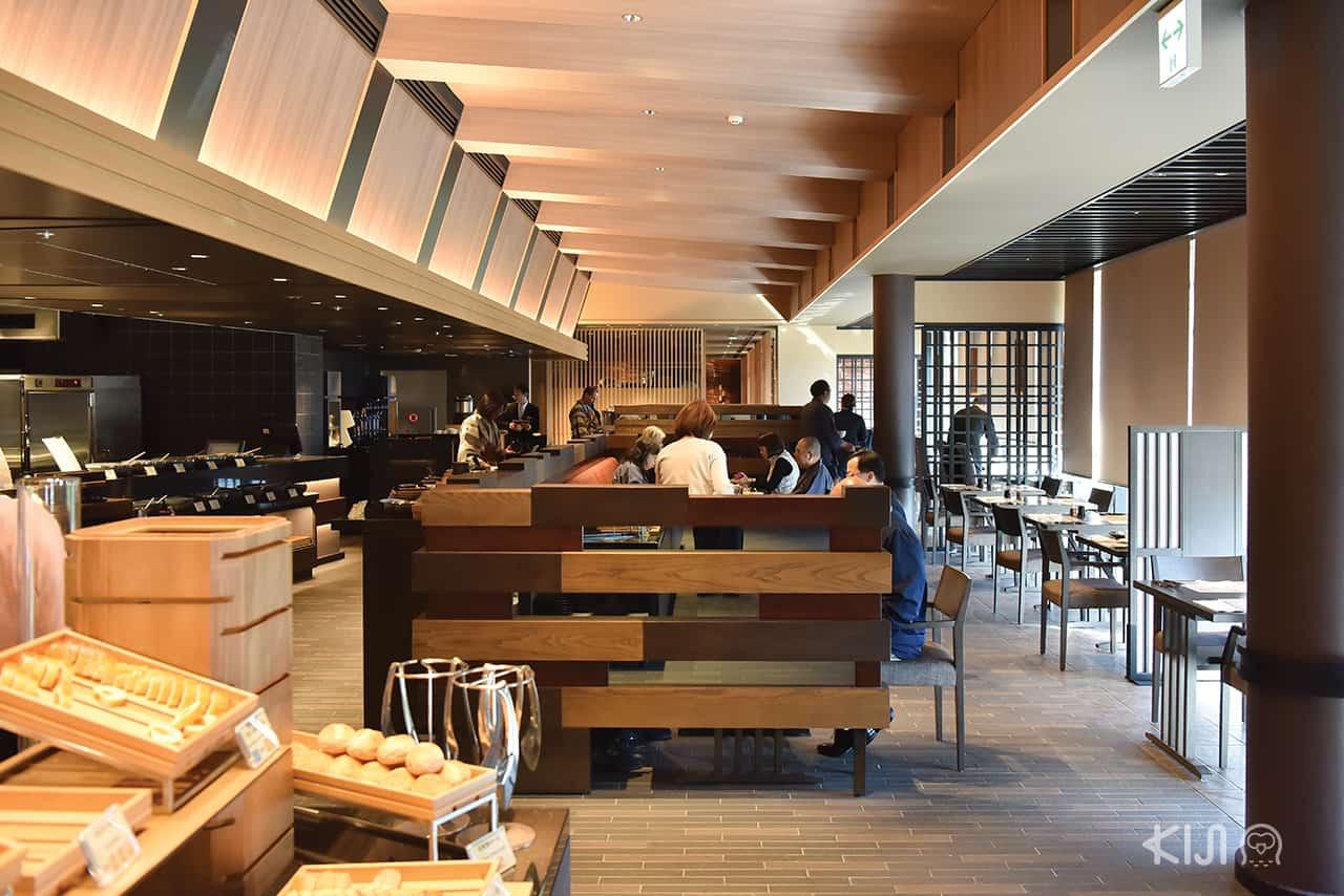 ห้องอาหารที่โรงแรม Hakone Kowakien Tenyu
