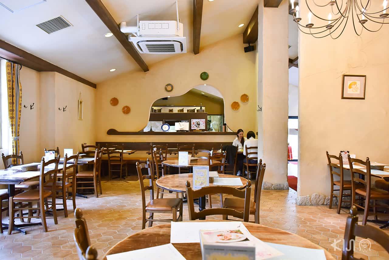 บรรยากาศภายใน Restaurant Le Petit Prince