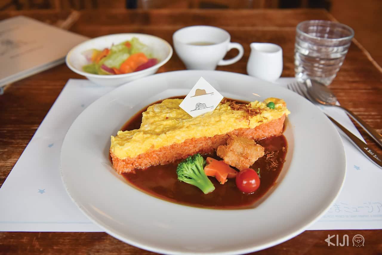 เมนูข้าวห่อไข่ที่ Restaurant Le Petit Prince