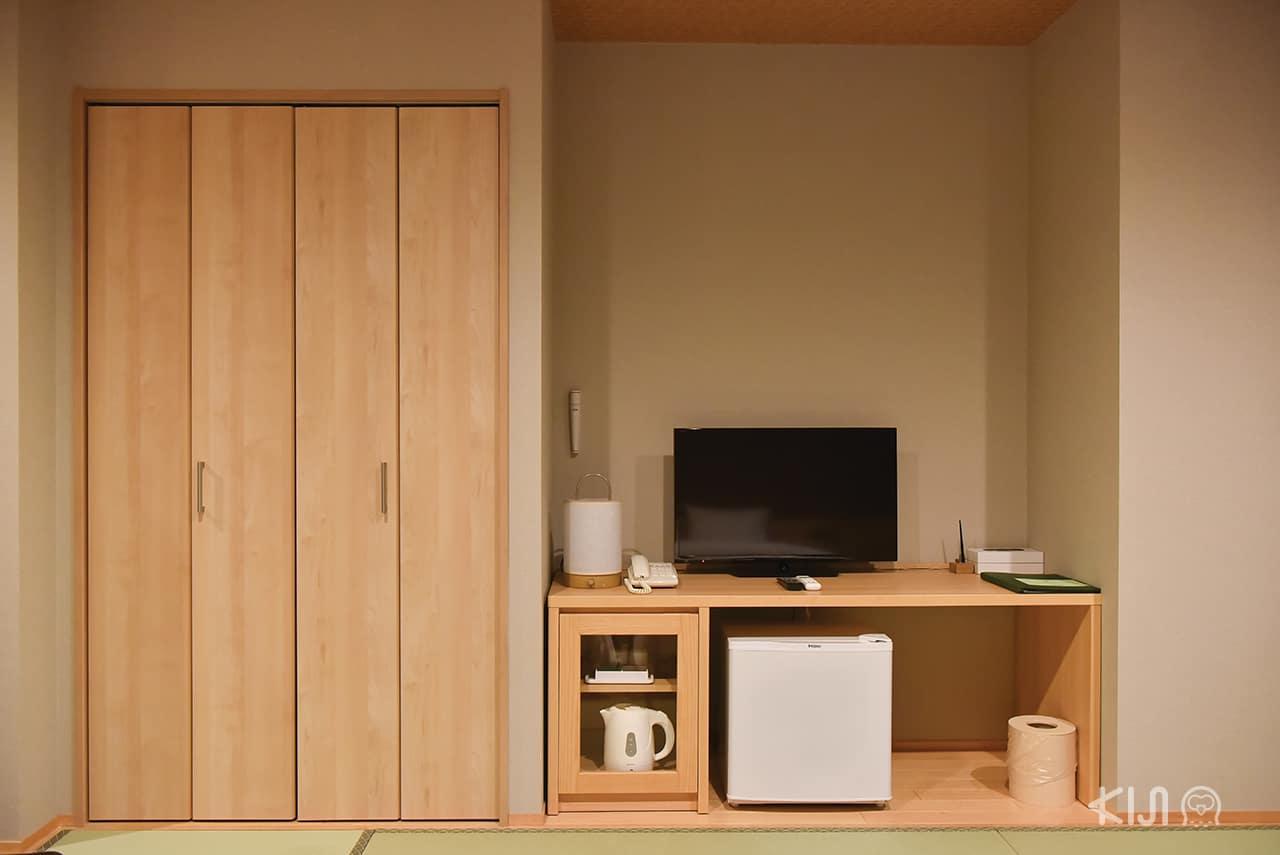 สิ่งที่อำนวยความสะดวกสบายภายในห้องพักที่ Hakone Kowakien Miyamafurin