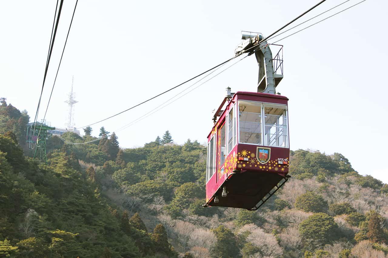 เที่ยวโกเบ นั่งกระเช้าลอยฟ้าเพื่อไปยัง Kikuseidai