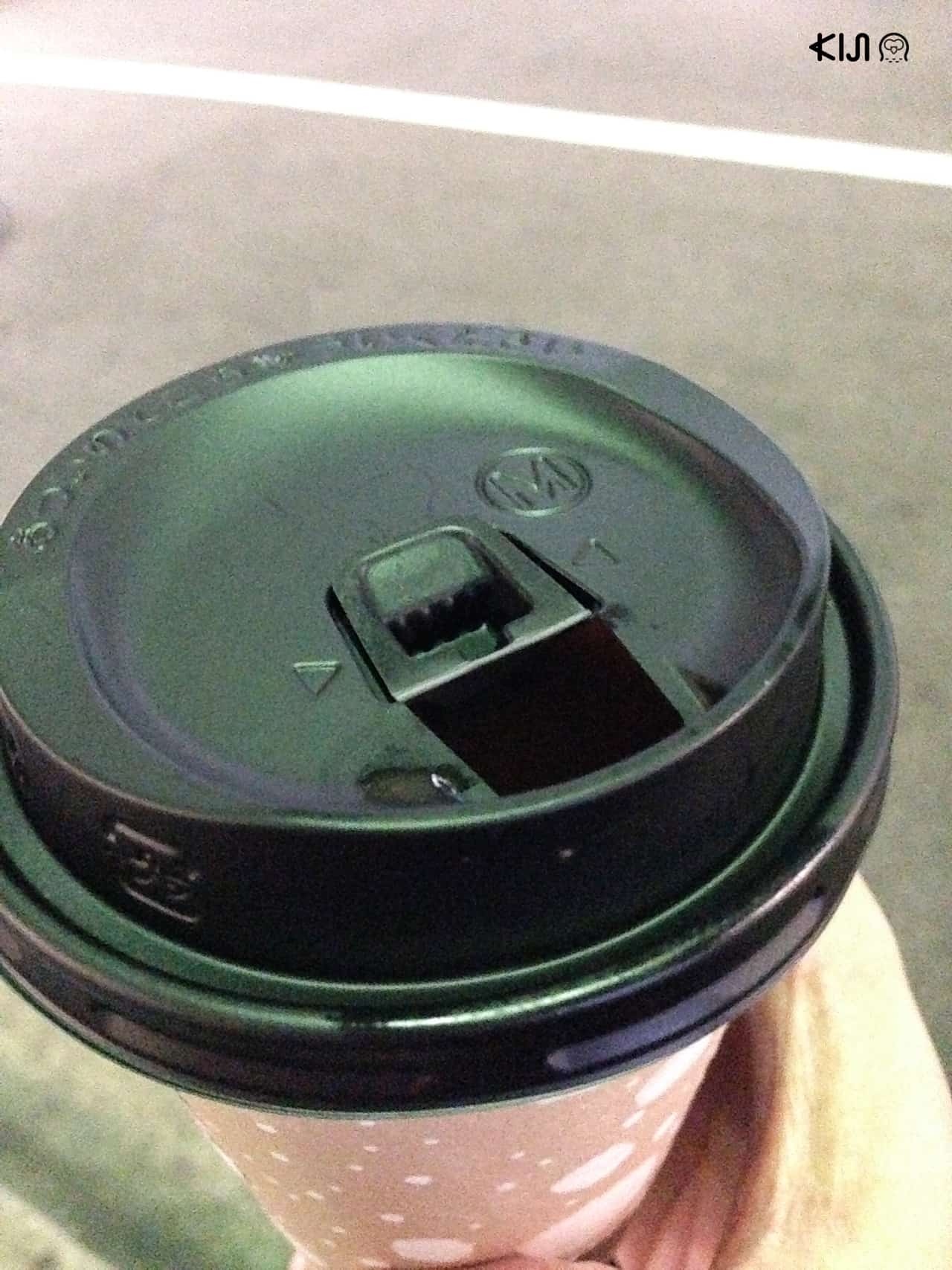 ฝาปิดถ้วยกาแฟร้อนลงล็อคของ แพ็กเกจจิ้งญี่ปุ่น