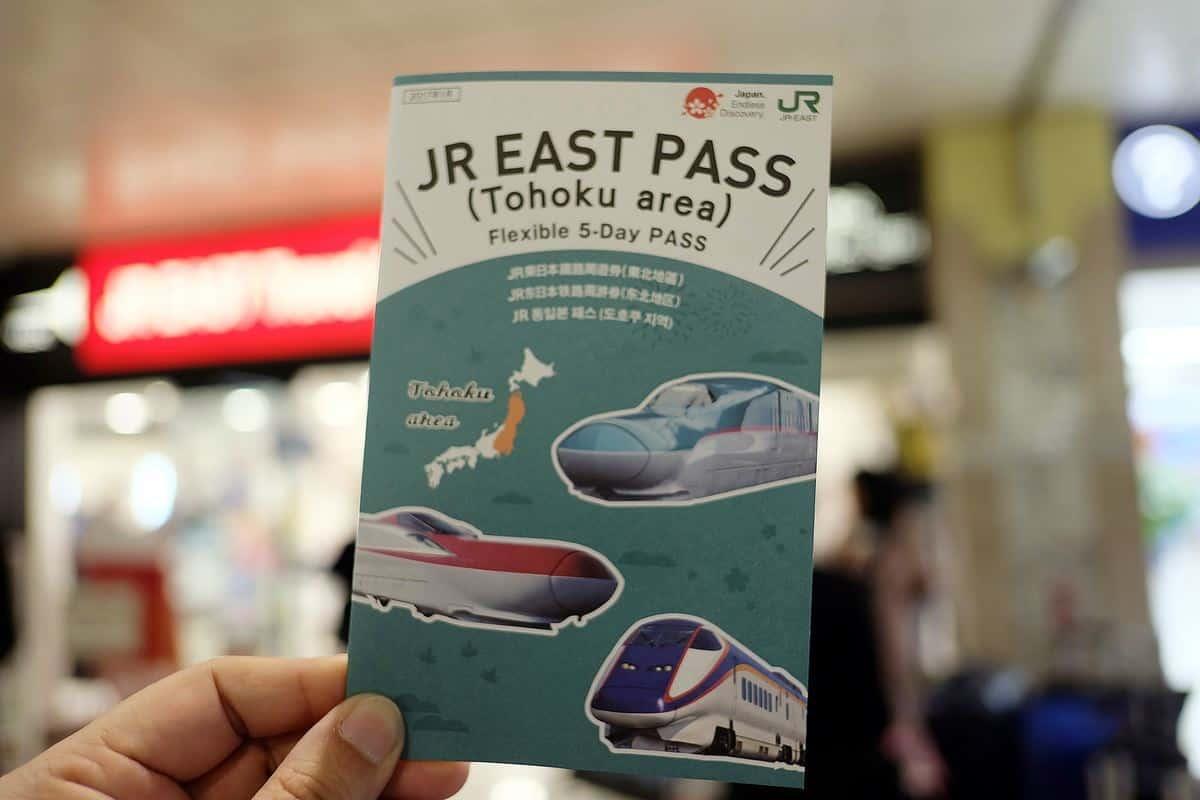 นั่ง JR East Pass ไปดู Hanabi