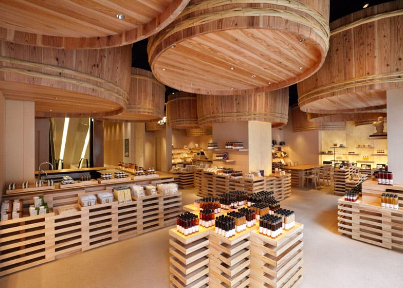 Kayanoya in Tokyo designed by Kengo Kuma