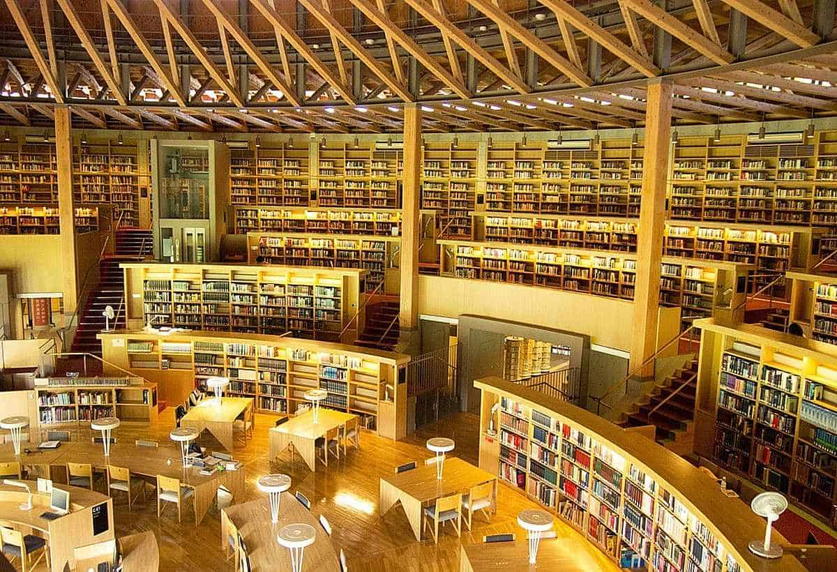 Nakajima Library | Akita ห้องสมุด สุดเก๋ใน ญี่ปุ่น