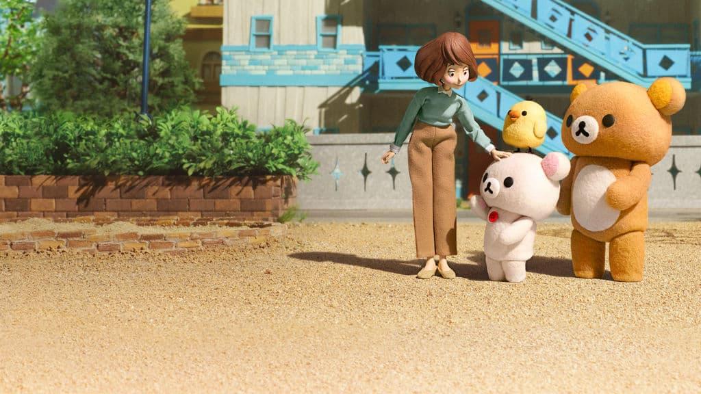 การ์ตูนเรื่อง ริลัคคุมะ & คาโอรุ ในเน็ตฟลิกซ์