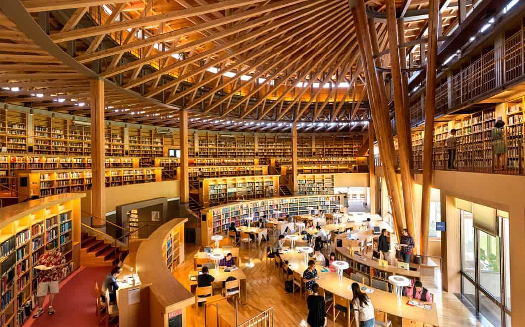 Nakajima Library คือห้องสมุดที่สวยที่สุดในญี่ปุ่น