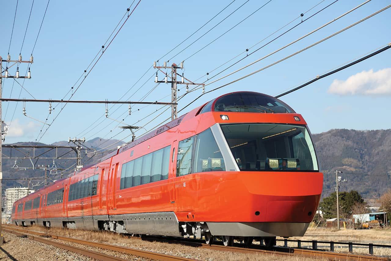 รถไฟขบวน Romance-car6 เที่ยวเมืองฮาโกเน่ (Hakone)