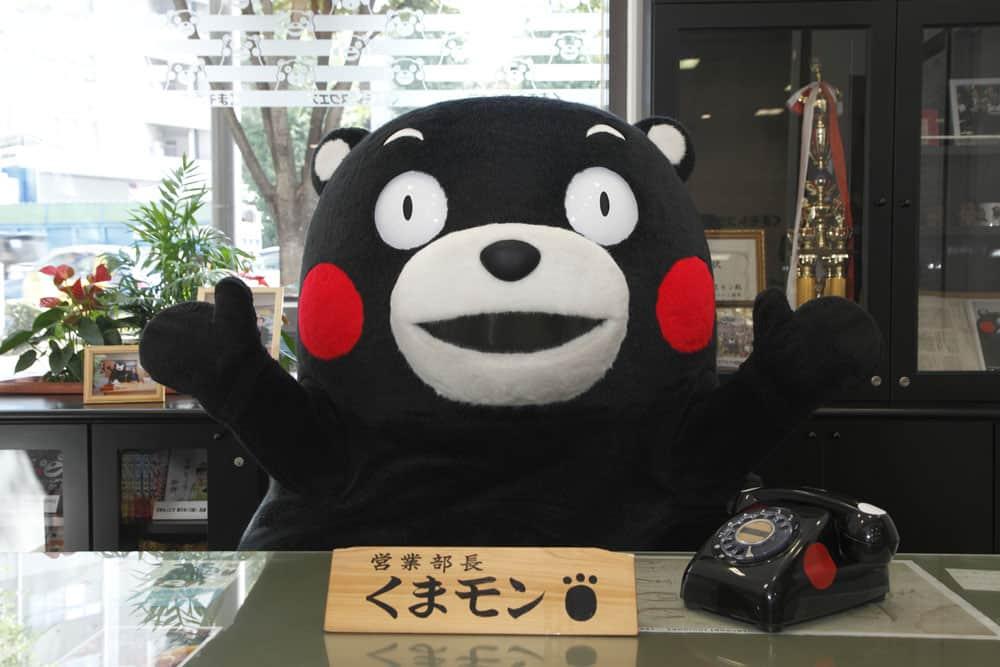คุมะมง มาสคอตประจำจังหวัดคุมาโมโตะ (Kumamoto)