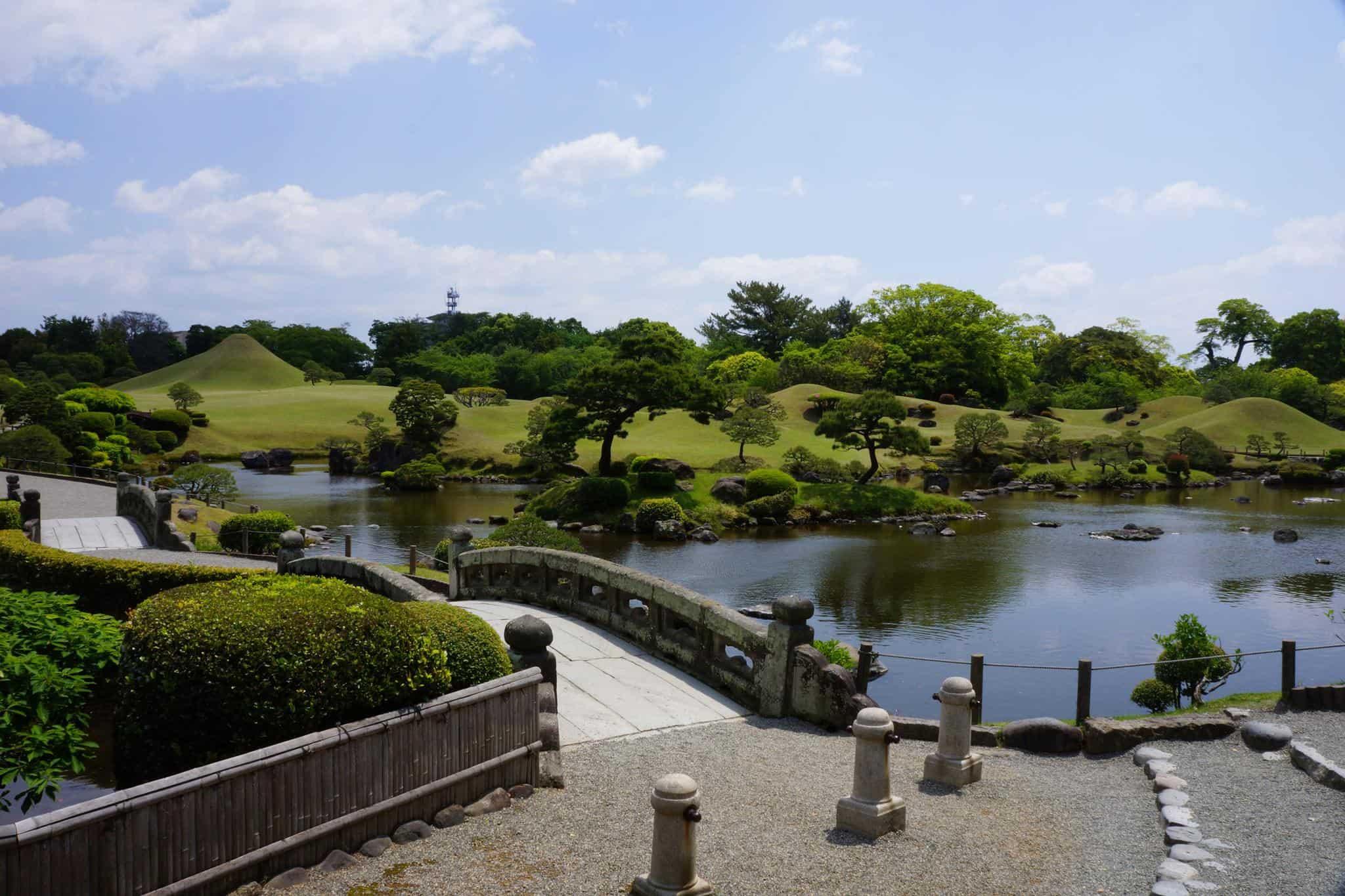 Suizenji Koen สวนญี่ปุ่นที่มีชื่อเสียงที่สุดของเมืองคุมาโมโตะ (Kumamoto)