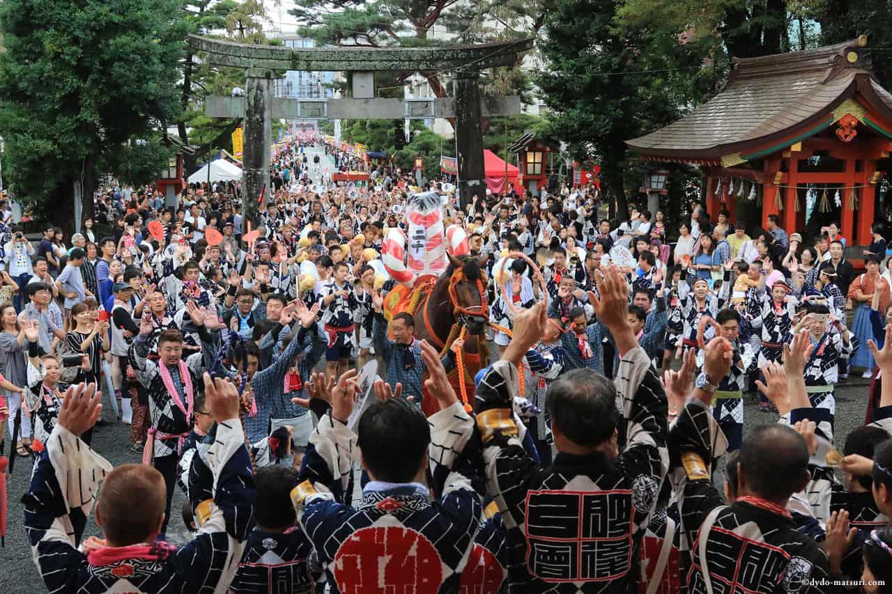 เทศกาล 'ซุยเบียว' (Zuibyo) จัดขึ้นเป็นประจำทุกปีที่เมือง Kumamoto