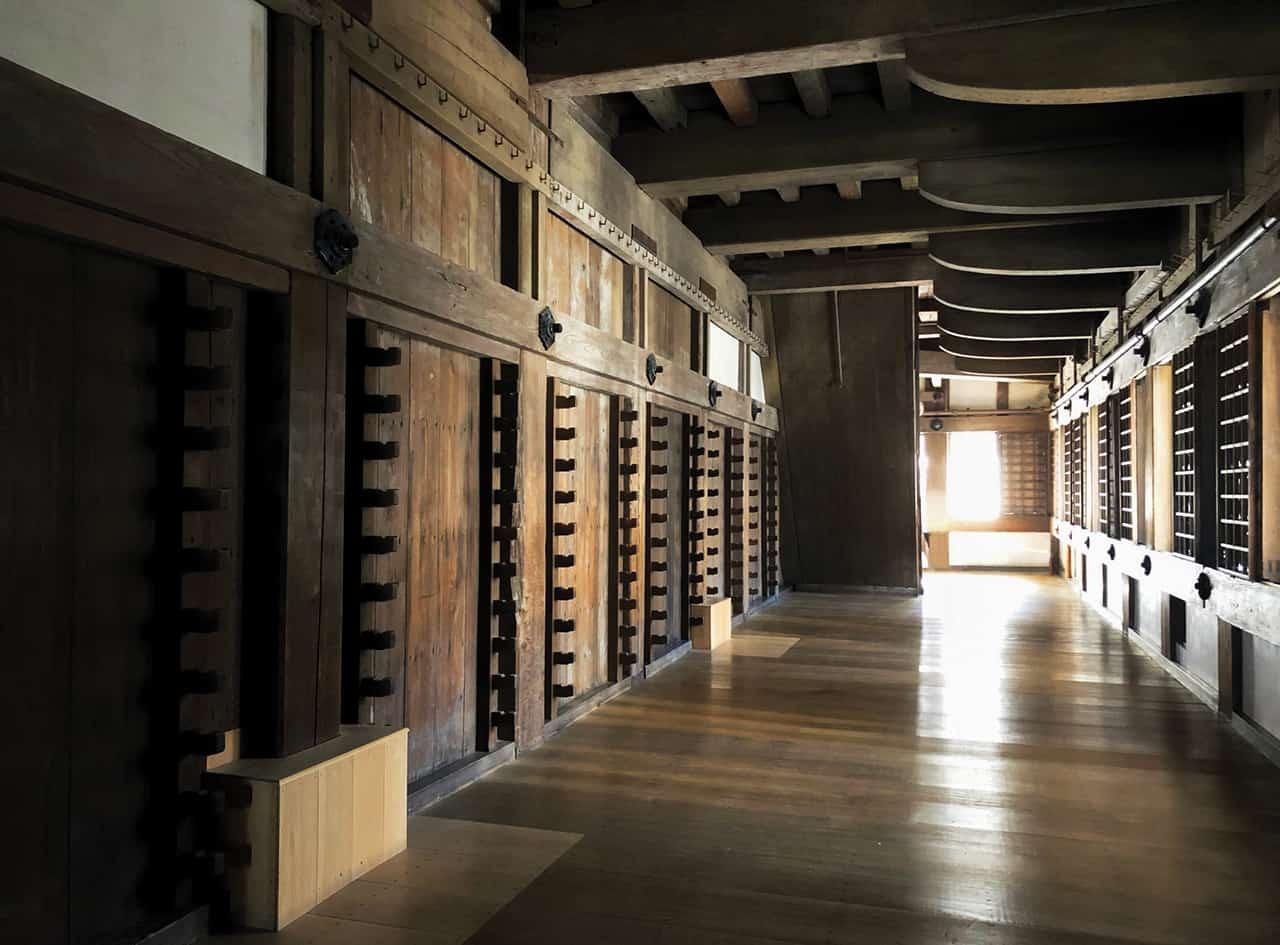 ภายในปราสาทฮิเมจิ เฮียวโงะ