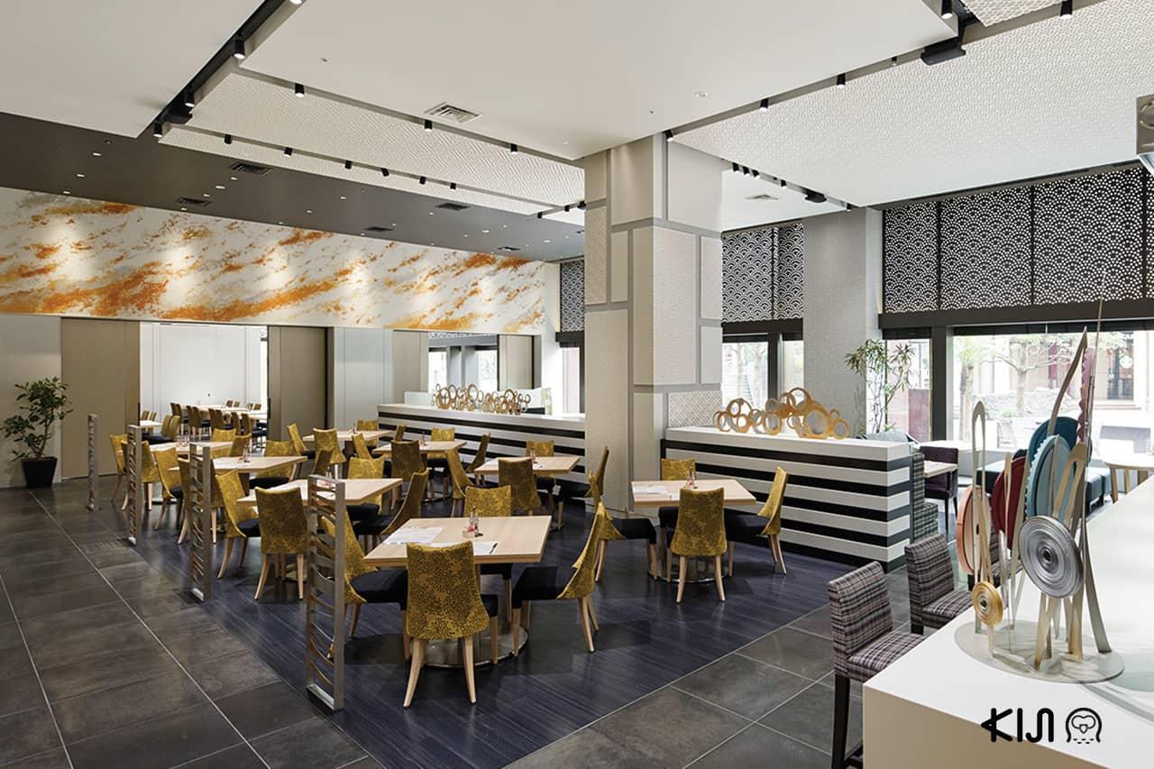 Beltempo ห้องอาหารเช้าของโรงแรม