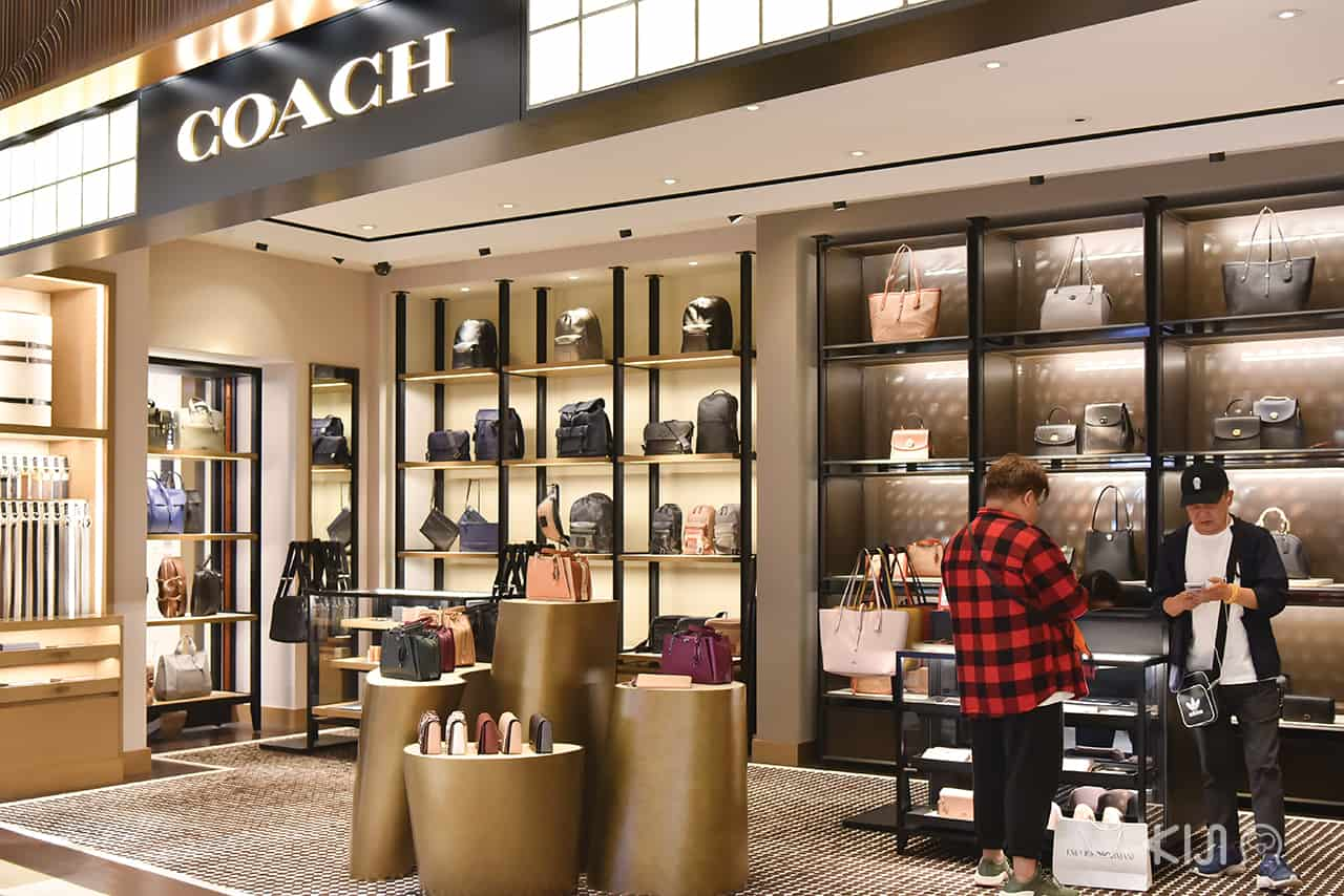 Coach shop at LOTTE DUTY FREE GINZA