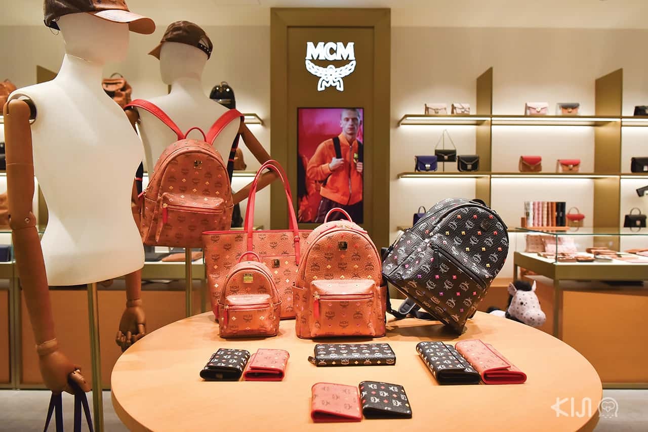 MCM shop at LOTTE DUTY FREE GINZA