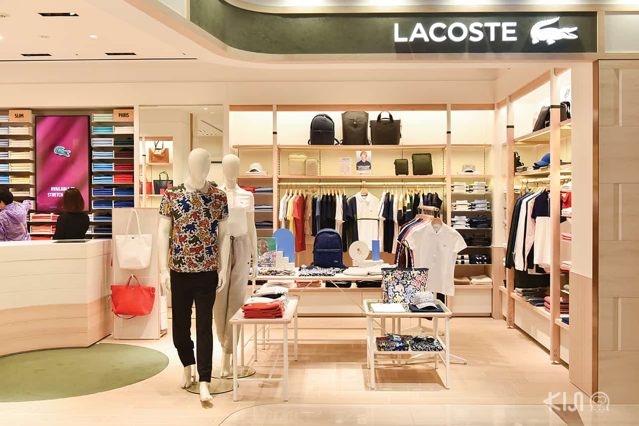 Lacoste shop at LOTTE DUTY FREE GINZA