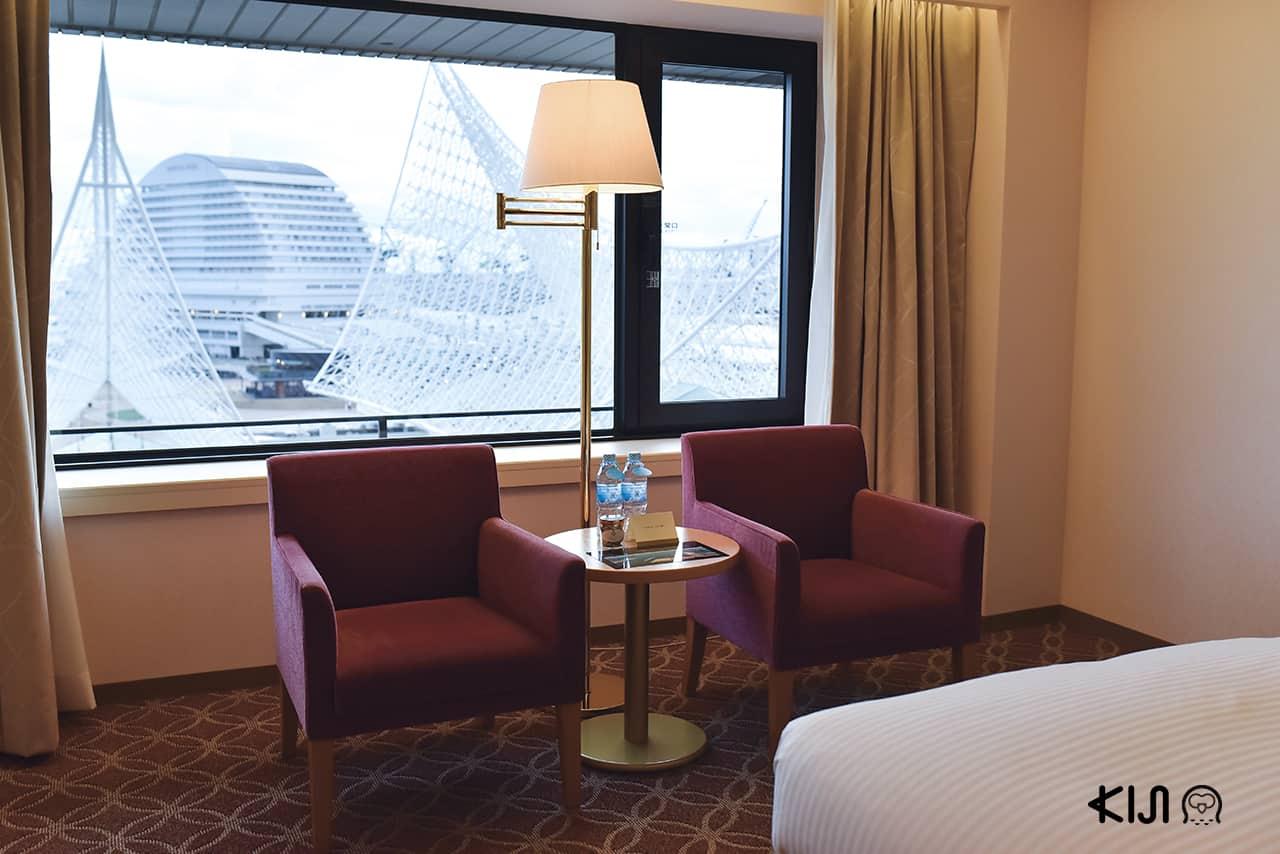 ภายในห้องพักของโรงแรม Hotel Okura Kobe