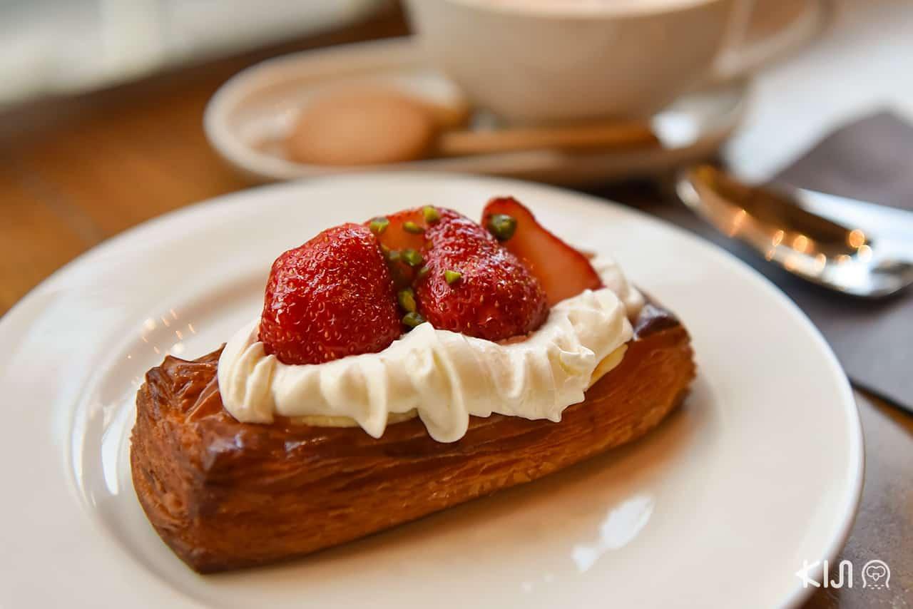 Strawberry Danish- Crossroad Bakery, Ebisu station, Tokyo