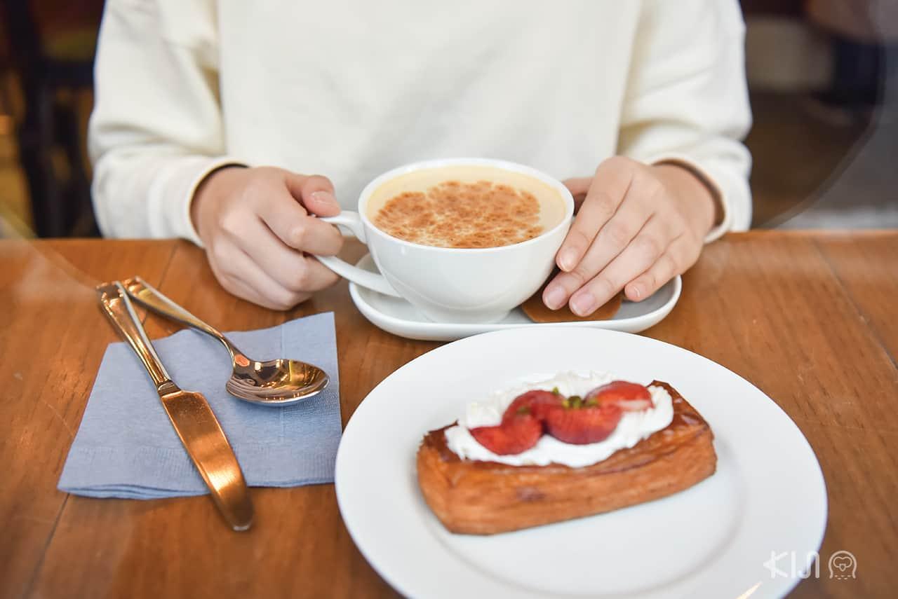 Homemade Chai Latte- Crossroad Bakery, Ebisu station, Tokyo