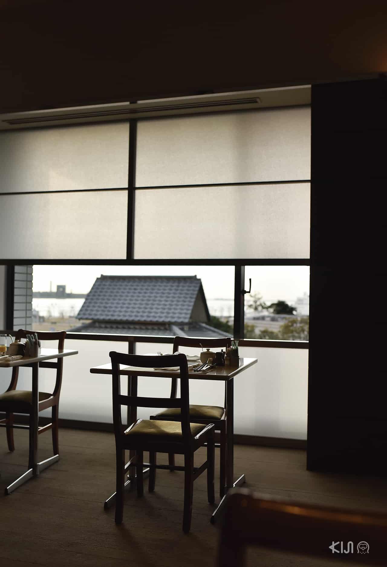 มุมโต๊ะอาหารของ Hotel Okura Kobe