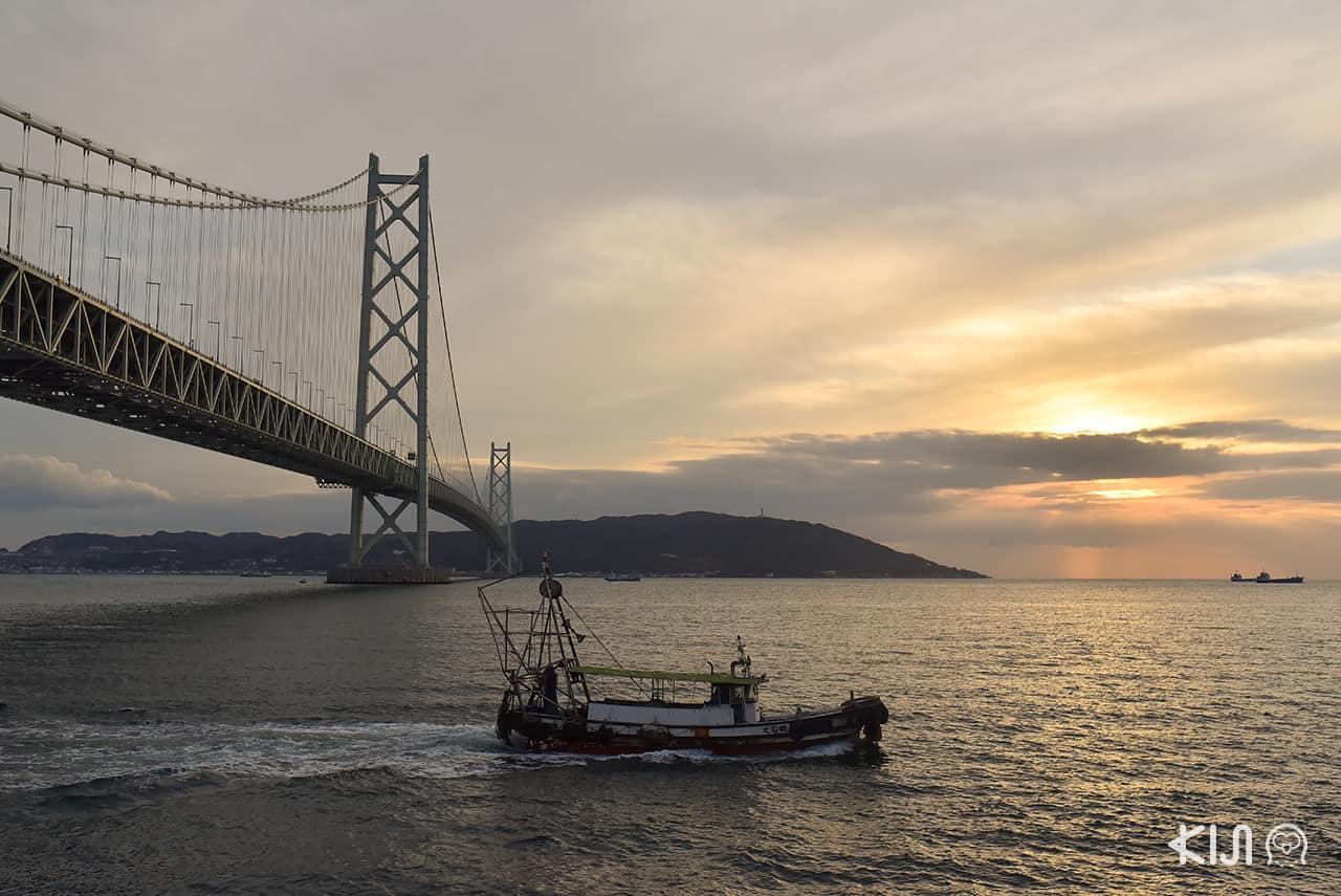 สะพานอาคาชิไคเกียว (Akashi Kaikyo Bridge)
